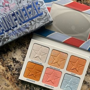 Jeffrey star brain freeze highlighter palette